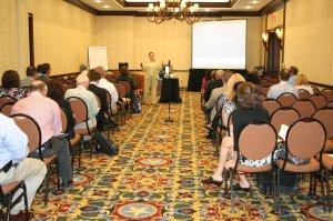 Vicki's presentation room in Dallas