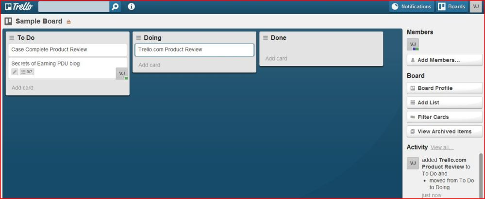 A+ for Trello Online Project Collaboration Tool (Progress Board) (1/2)
